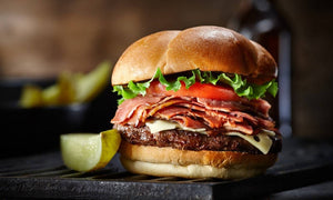 Big Al's Smokin' Smoked Meat Burger