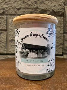 Rawdon Creek White Linen Candle