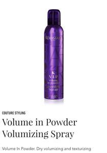 Kerastase VIP volume in powder - volumizing spray