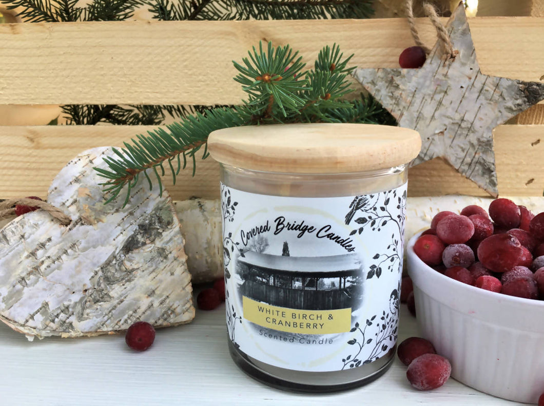 Rawdon Creek White Birch & Cranberry Candle