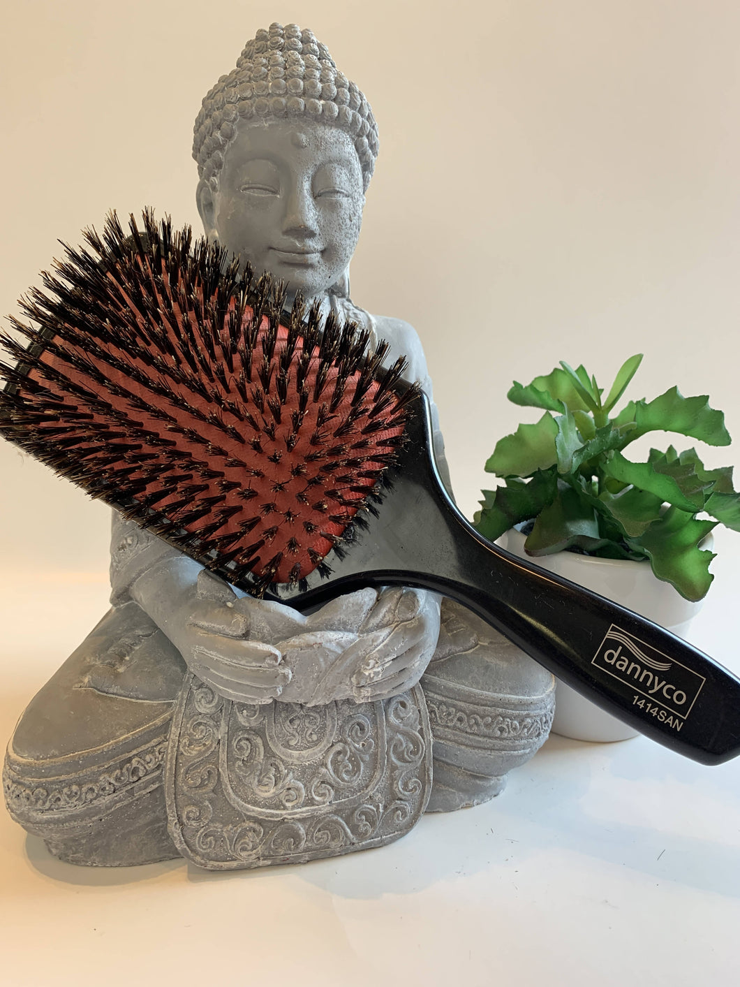 Dannyco Natural Boar Bristle Paddle Brush