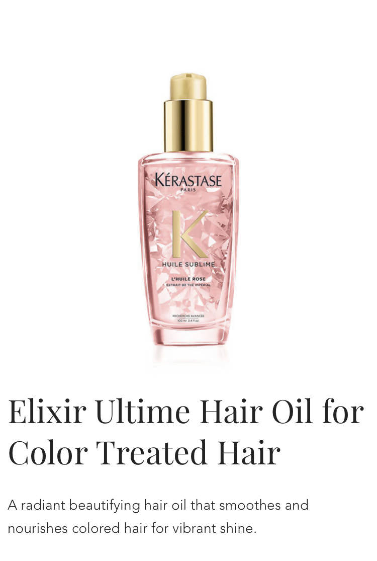 Kerastase Elixir Ultime for colour treated hair