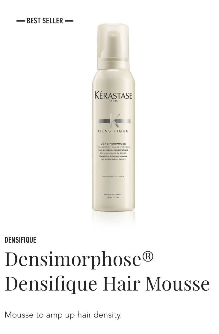 Kerastase Densimorphose Densite hair mousse