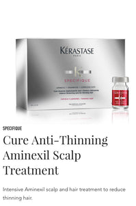Kerastase Cure Anti-thinning Aminexil treatment