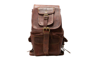 Smart look Leather Backpack(perfect for travel anywhere)