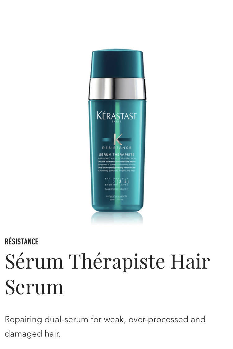 Kerastase serum therapiste - serum for over processed hair