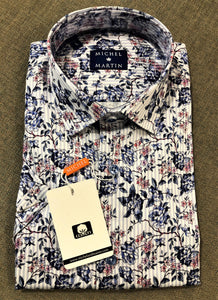 Michel & Martin Short Sleeve Sport Shirt