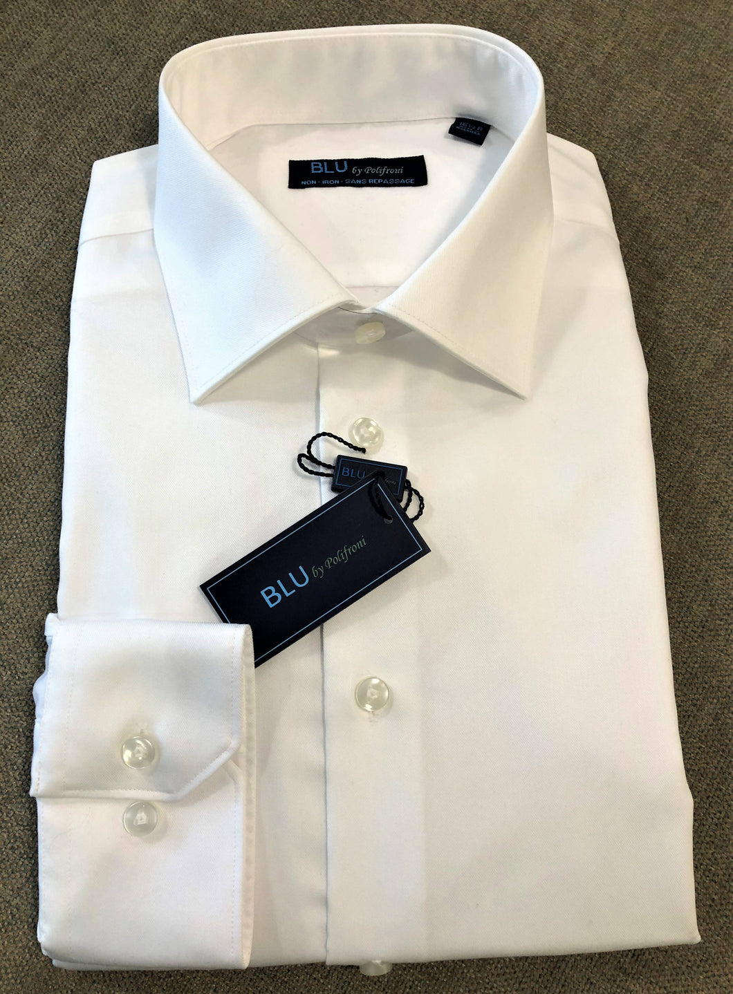 BLU - 100% Cotton No Iron Dress shirt