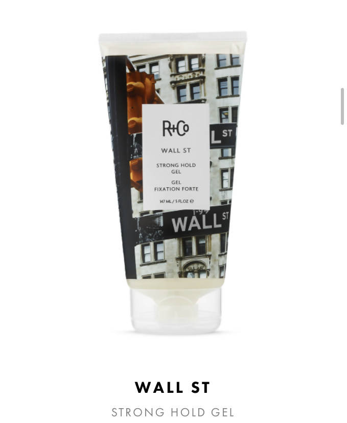 R+Co Wall Street Firm Hold Gel