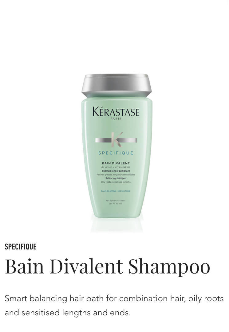 Kerastase Bain Divalent shampoo for oily hair