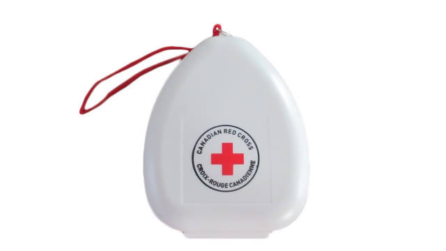 Reusable Breathing Barrier - CPR Mask in Clamshell Case