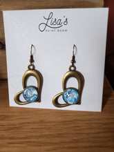 Load image into Gallery viewer, Paint Pour Earrings