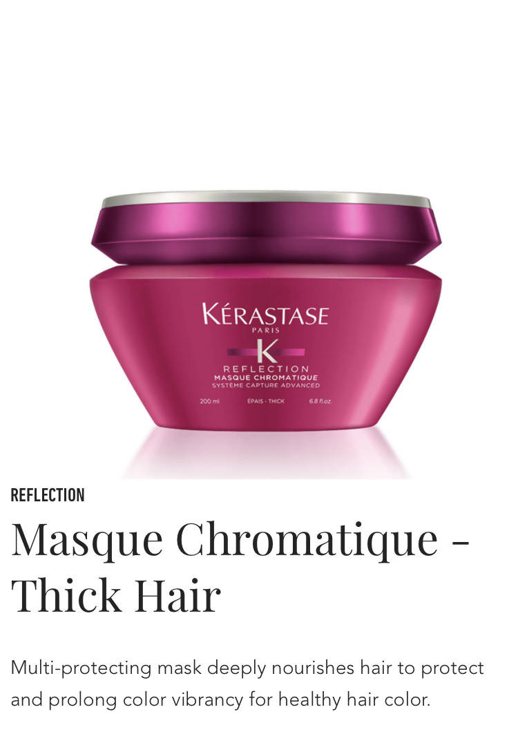 Kerastase Masque Chromatique Thick - mask for thick colour treated hair