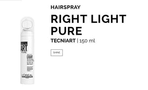 L'oreal Ring Light pure shine spray