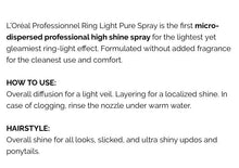 Load image into Gallery viewer, L'oreal Ring Light pure shine spray
