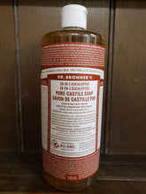 Load image into Gallery viewer, Dr Bronners Pure Castile lavendar soap