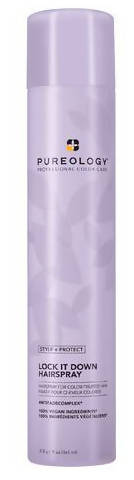 Pureology- Lock it Down Strong Hold Hairspray