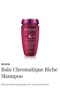 Kerastase Bain Chromatique Riche shampoo for coloured & hilighted hair