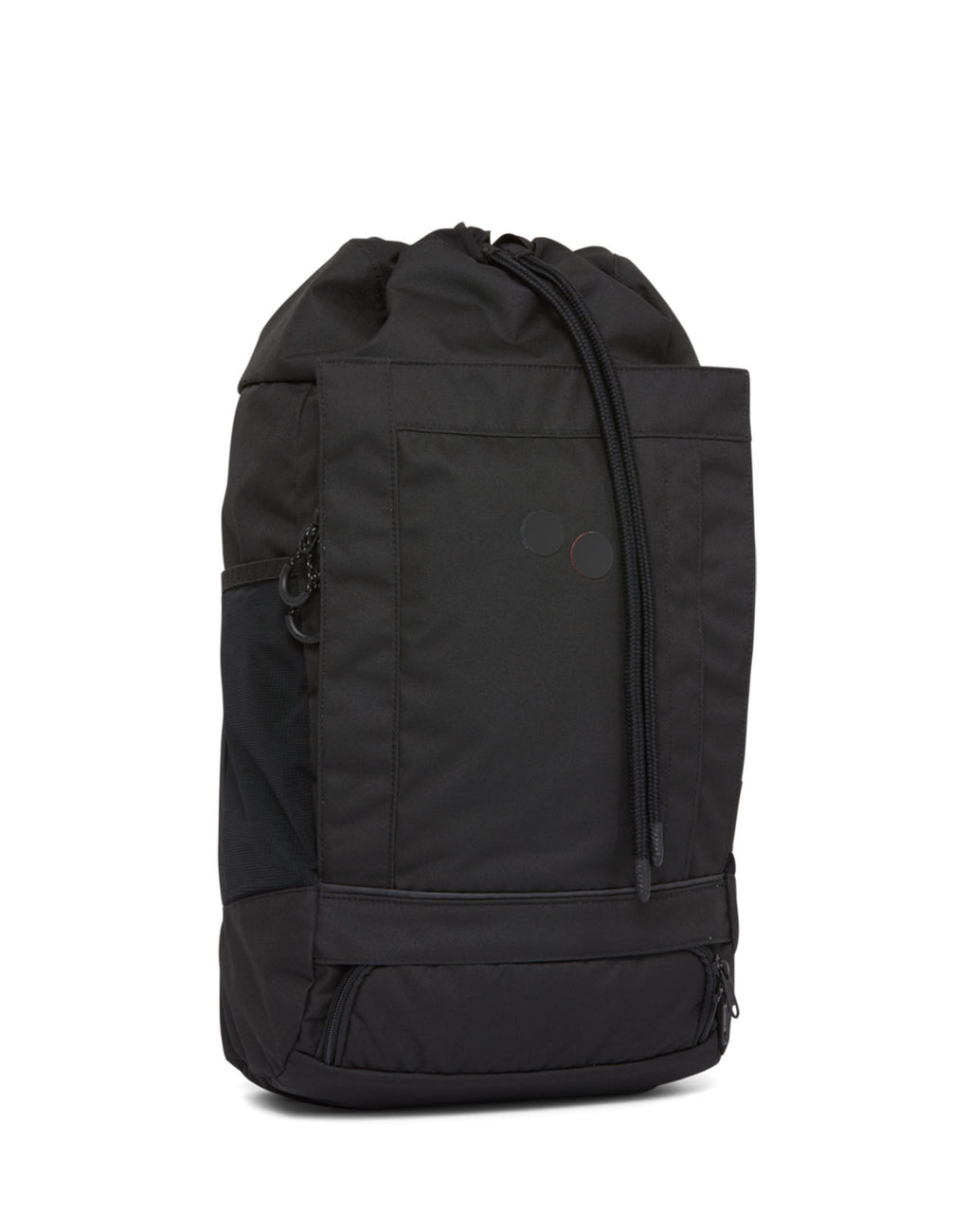 Sac à dos Blok Medium Rooted Black PinqPonq de face