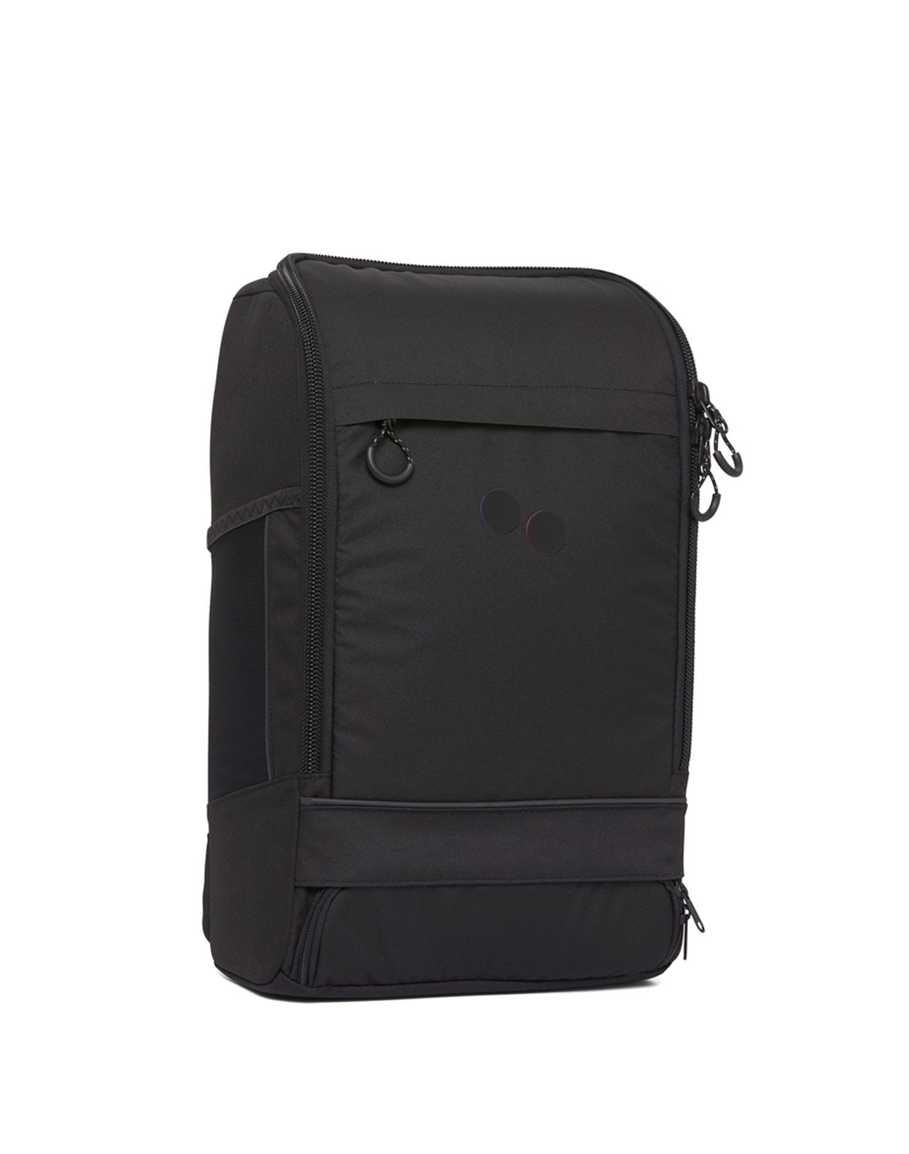 Sac à dos Cubik Medium Rooted Black Pinqponq de face