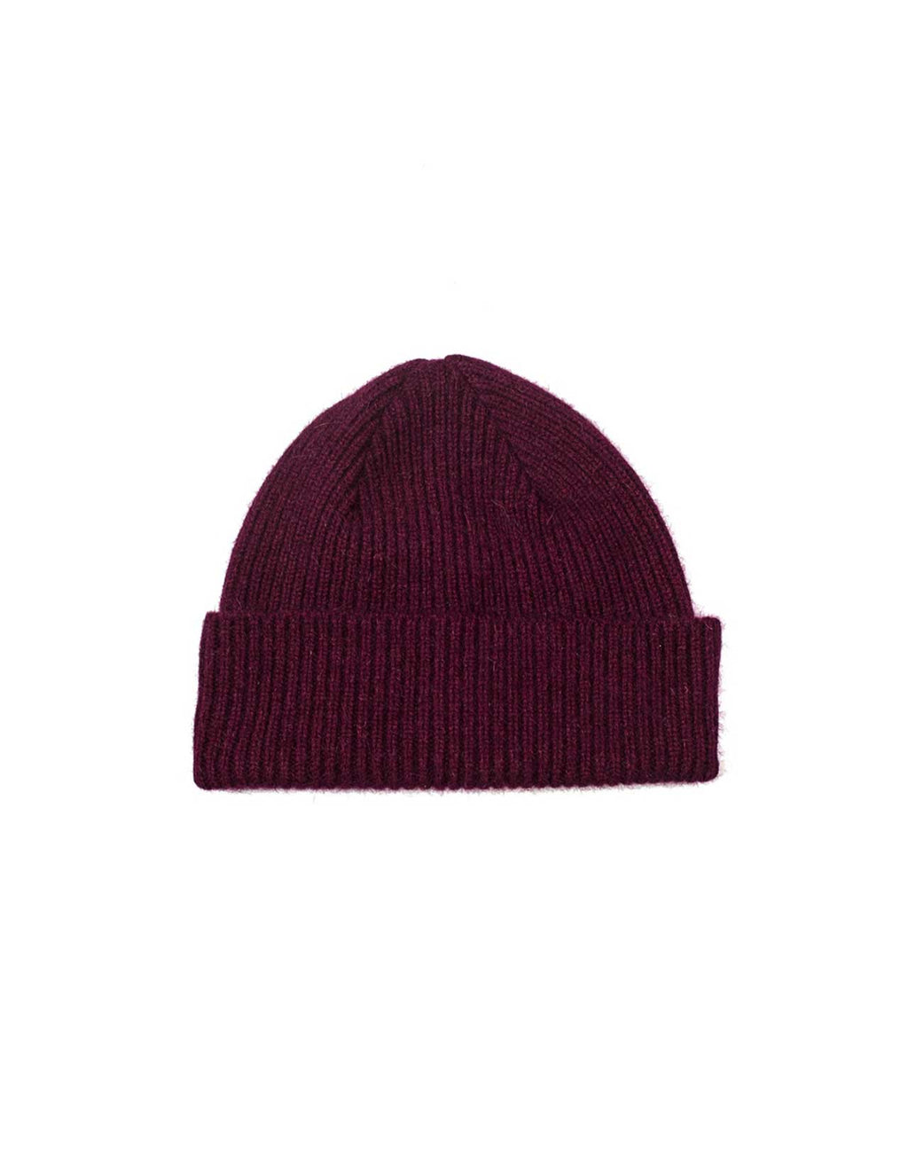 Bonnet Barra Robert Mackie couleur Bordeaux