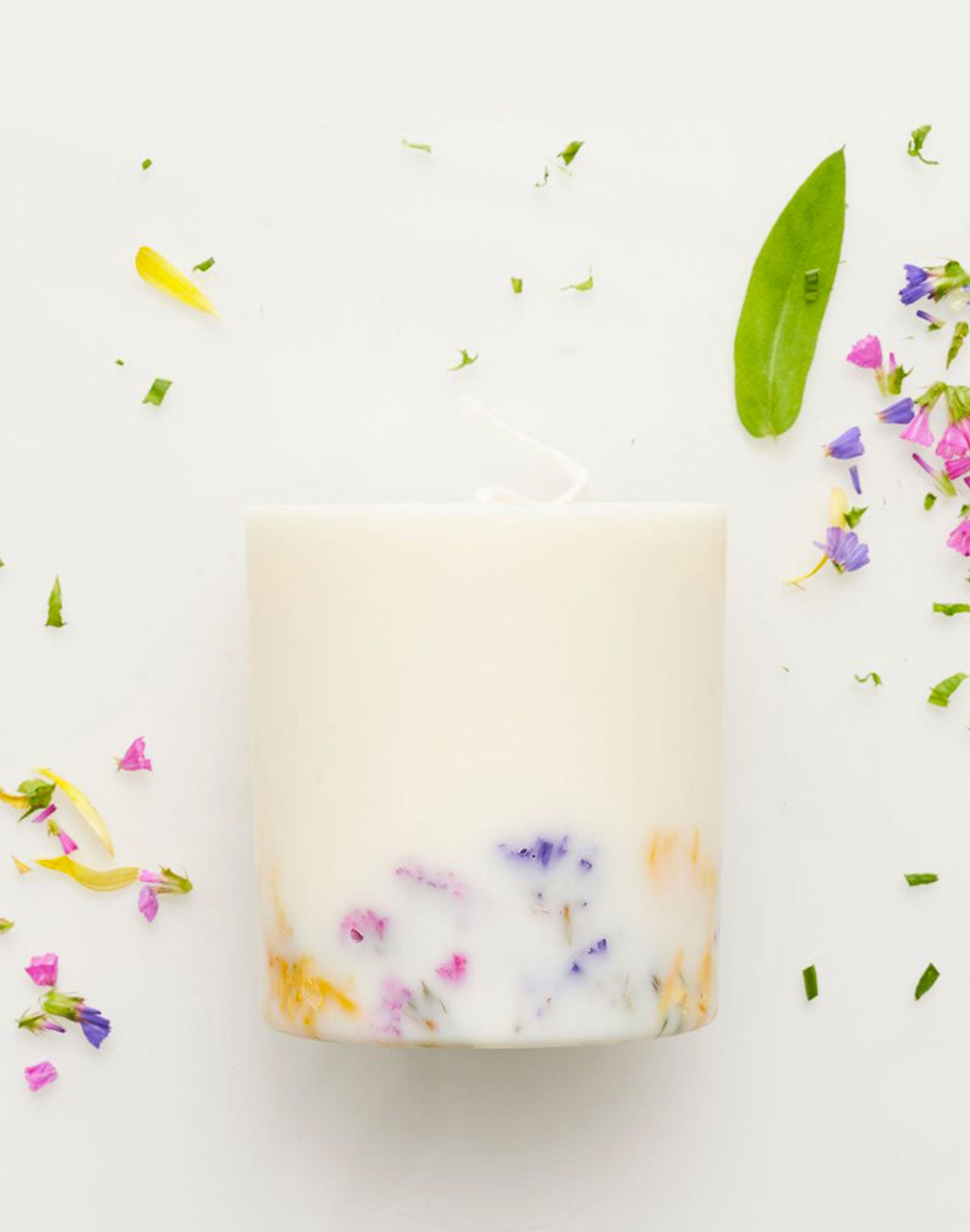 Bougie Wild Flowers Munio Candela vue de face