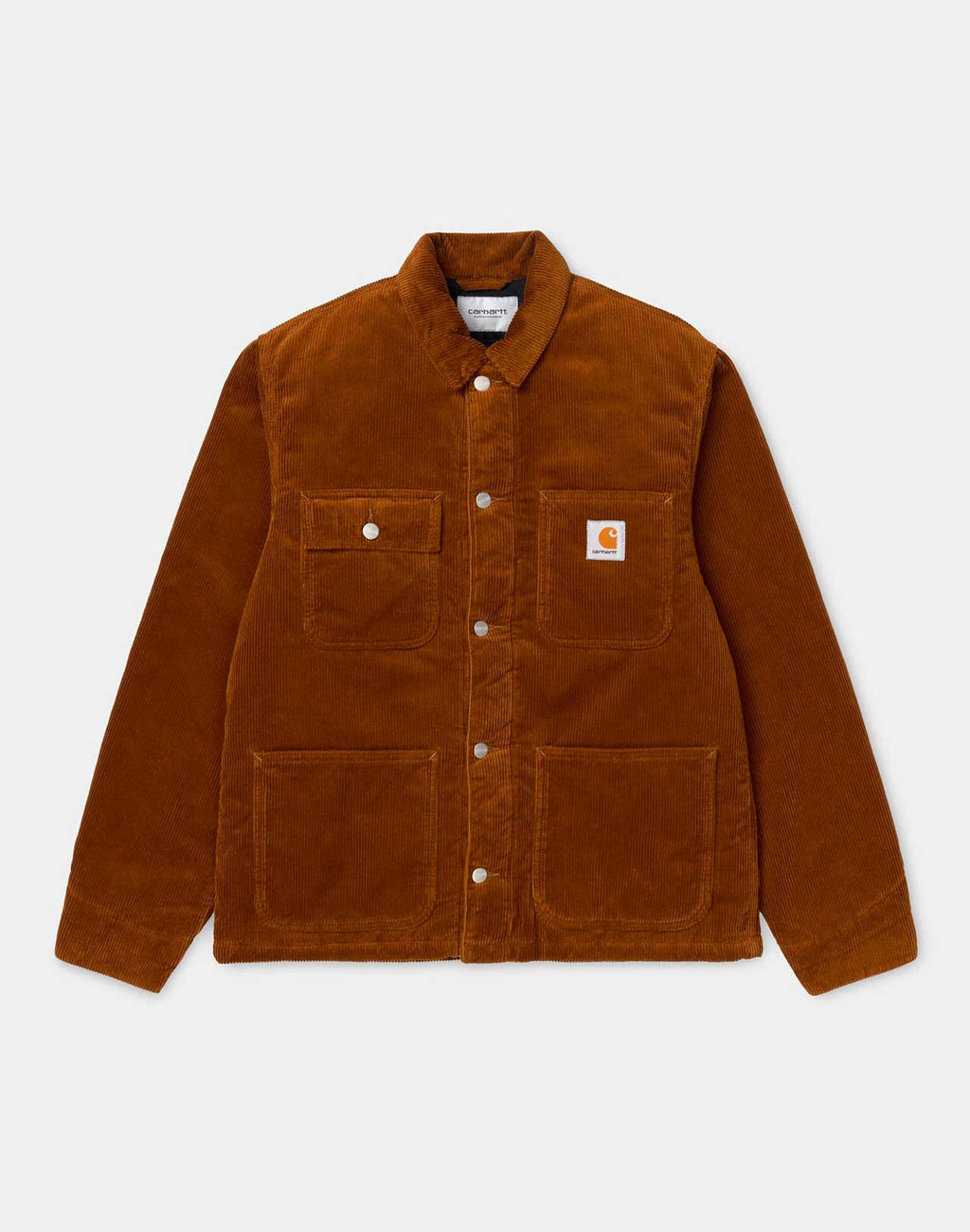 Veste Michigan en velours côtelé Brandy Rinsed Carhartt