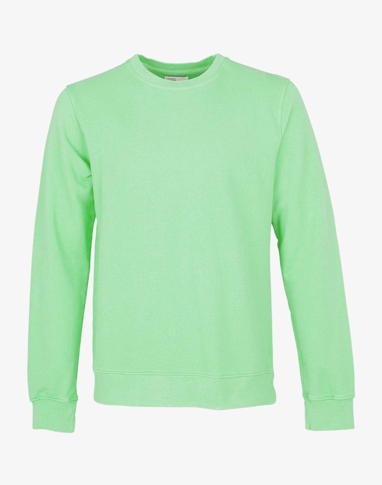 Classic Organic Crewneck Faded Mint