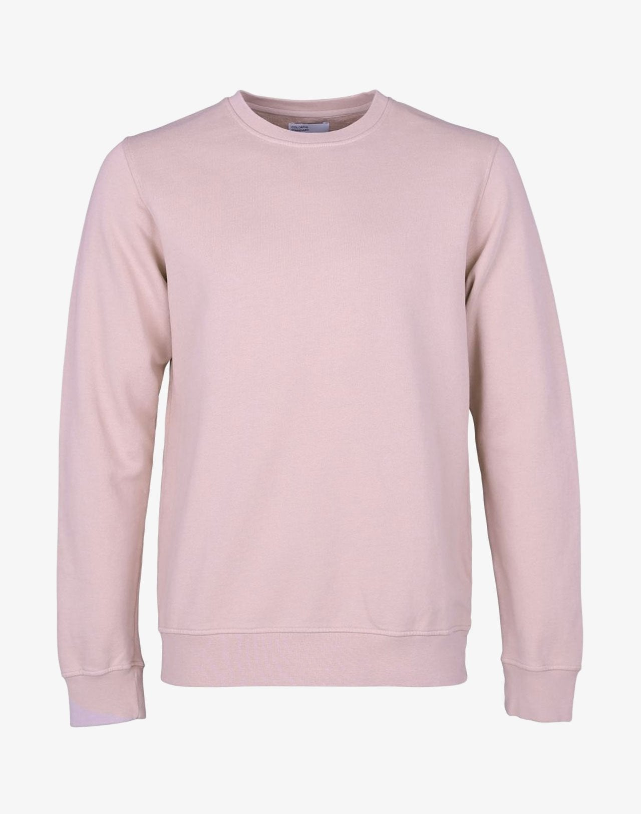 Classic Organic Crewneck Faded Pink