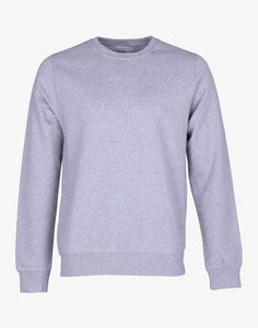 Classic Organic Crewneck Heather Grey