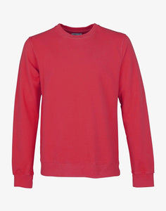 Classic Organic Crewneck Scarlet Red