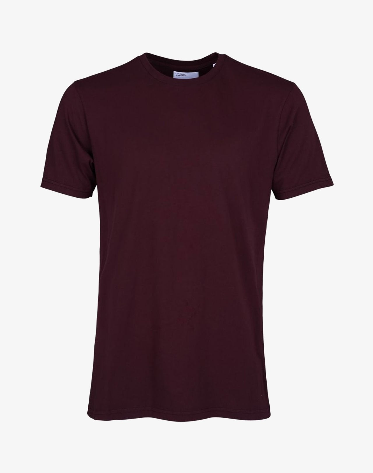 Classic Organic Tee Oxblood Red
