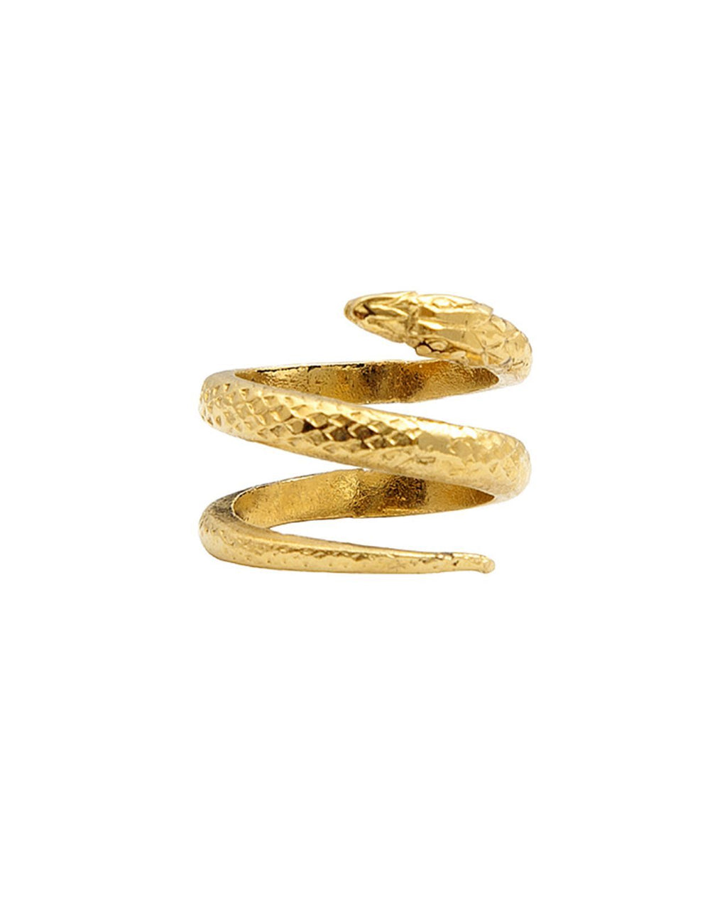 Bague Phalange Snake Or
