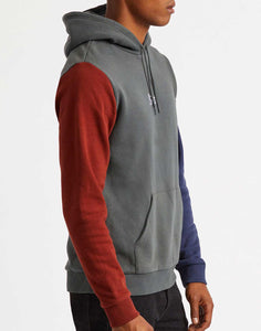 Sweat Stith Hood Brixton de profil