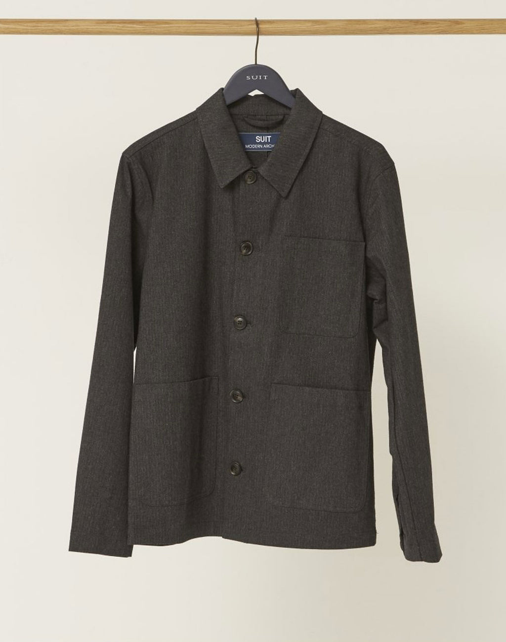 Veste Milton Dark Grey Suit de face
