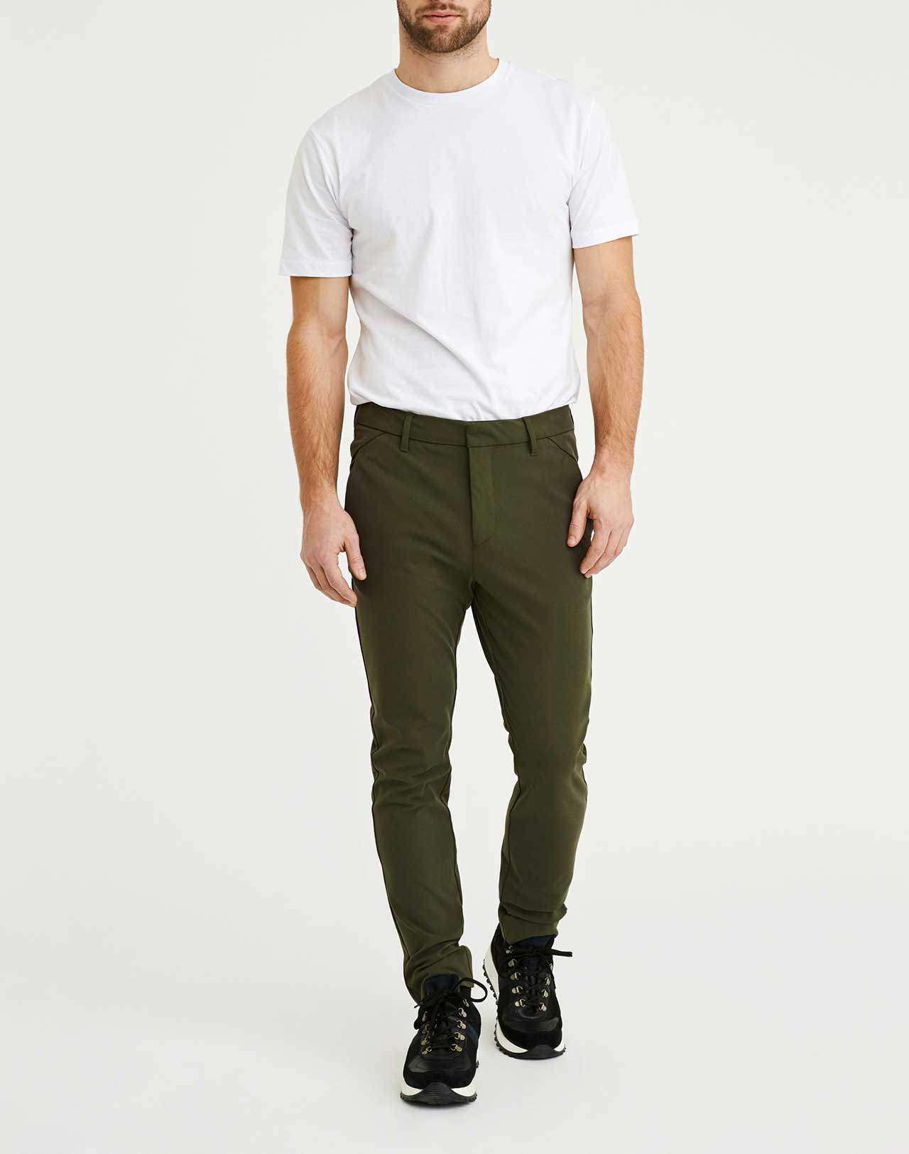 Pantalon Josh Army Plain Units de face