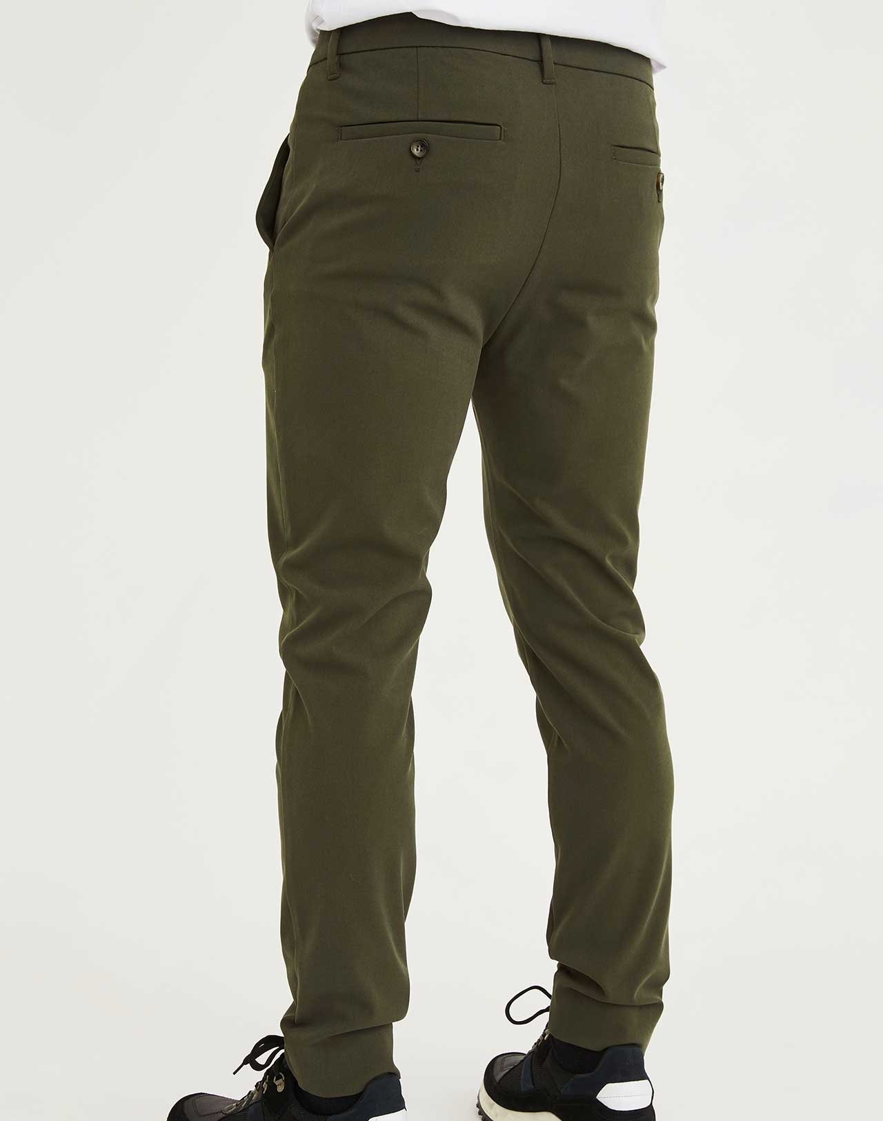 Pantalon Josh Army Plain Units de dos