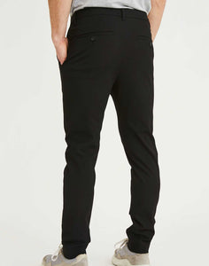Pantalon Josh Noir Plain Units de dos
