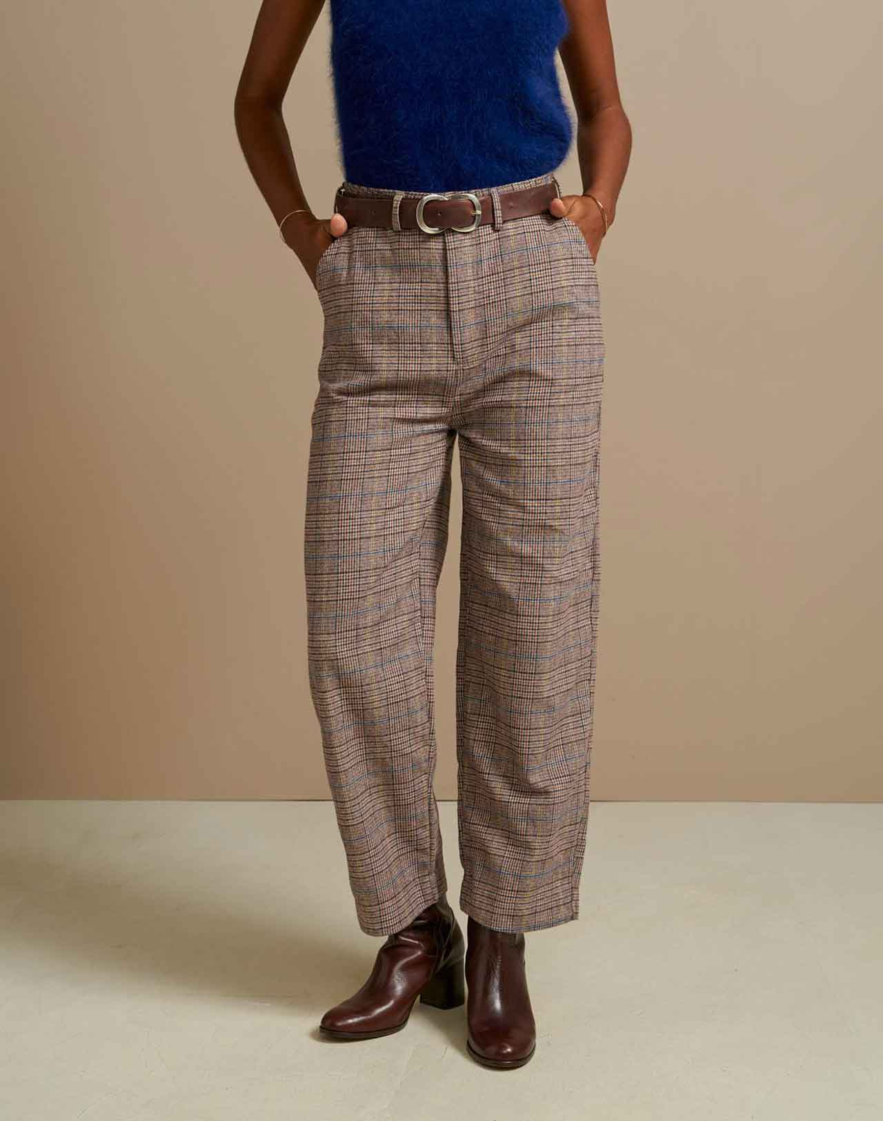 Pantalon Pollock Check Bellerose à carreaux