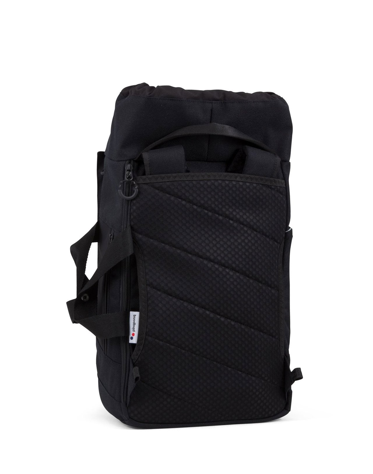 Blok Medium Black Pinqponq sac à dos noir
