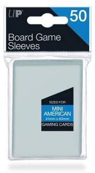 Ultra Pro: Mini American Board Game Sleeves | Battle Bliss