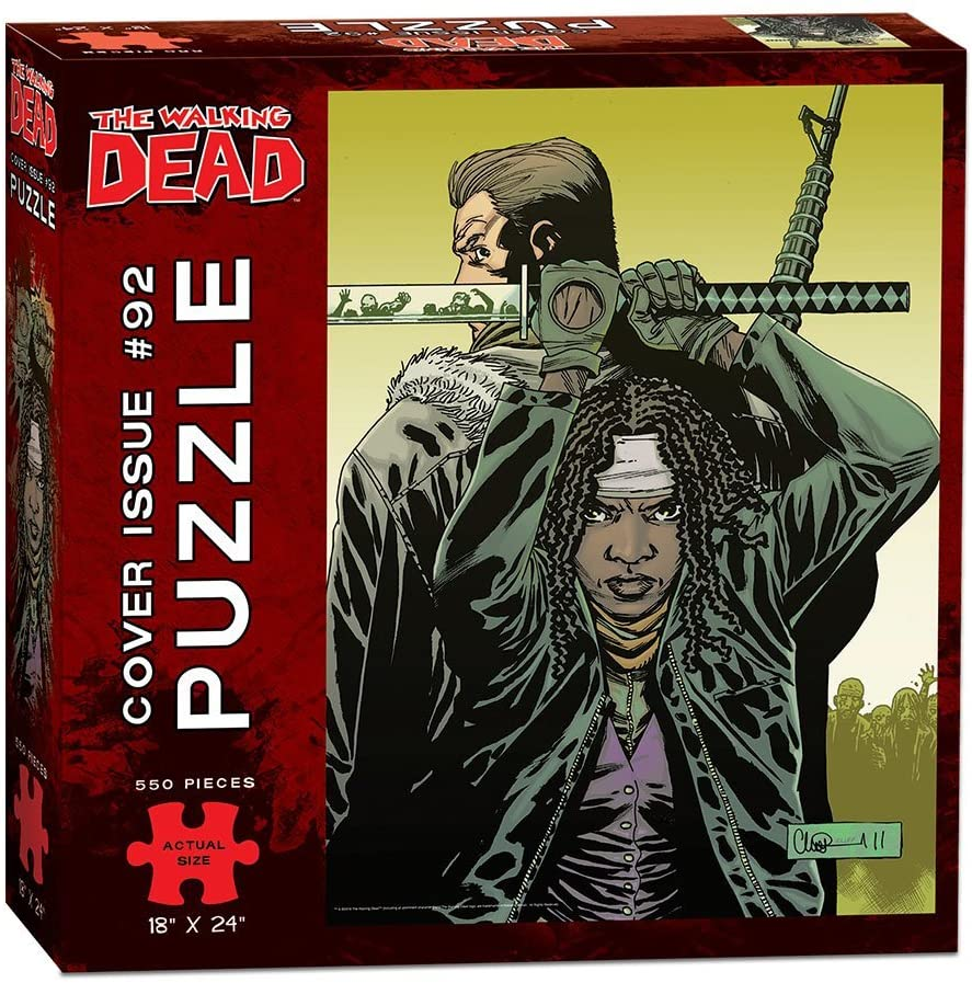 Puzzle - The Walking Dead: Cover Art Issue 92 - Michonne | Battle Bliss