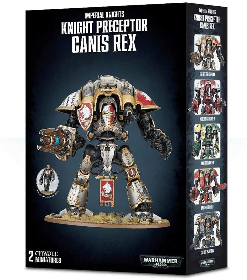 Imperial Knights Knight Perceptor Canis Rex | Battle Bliss