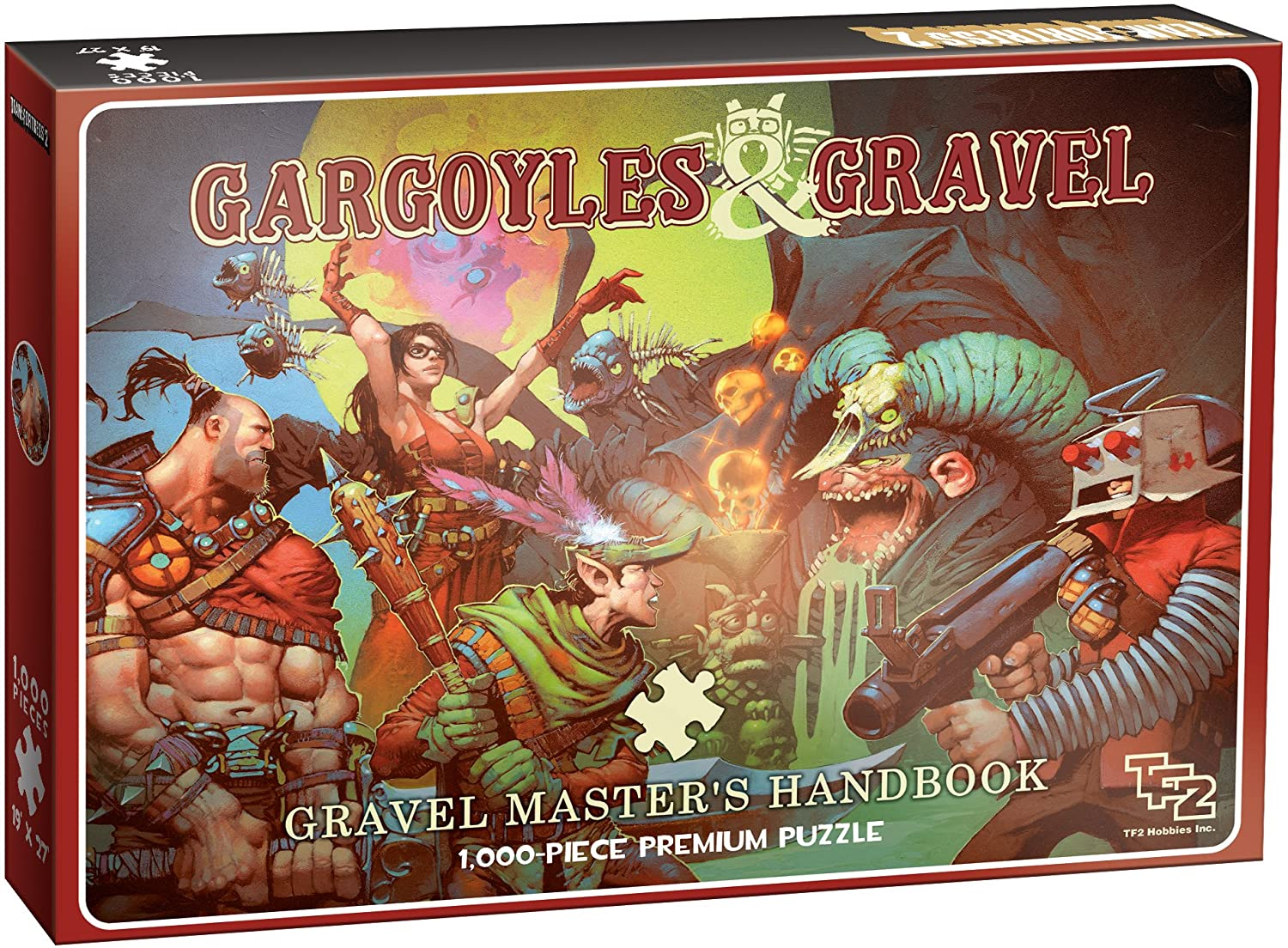 Puzzle - Team-Fortress: Gargoyles and Gravel (1000 pc.) | Battle Bliss