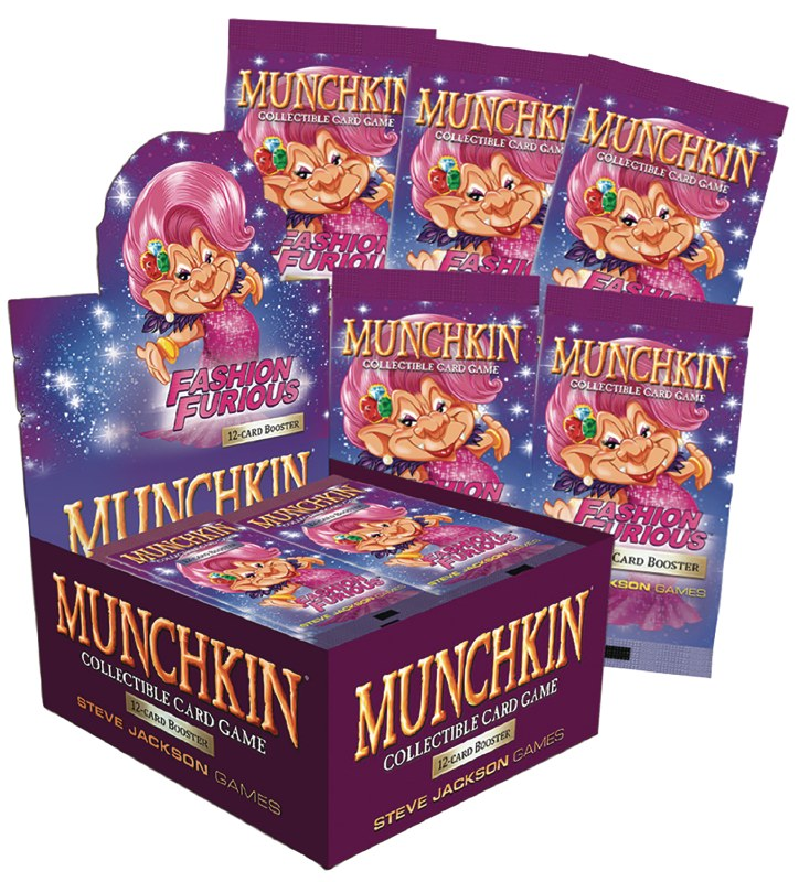 Munchkin CCG: Fashion Furious Booster Box | Battle Bliss