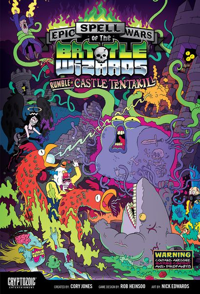 Epic Spell Wars of the Battle Wizards: Rumble at Castle Tentakill (2015) | Battle Bliss