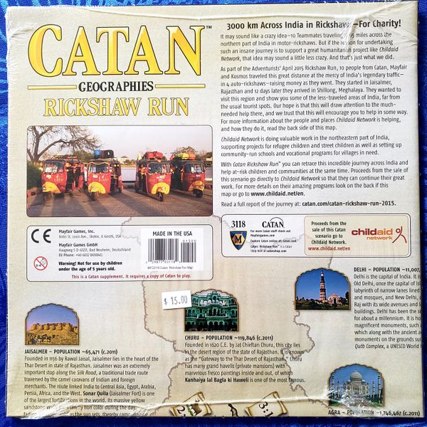 Catan Geographies: Rickshaw Run | Battle Bliss