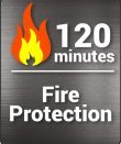 Image of 2 HR Fire Proof Home Safe Model HS-610E