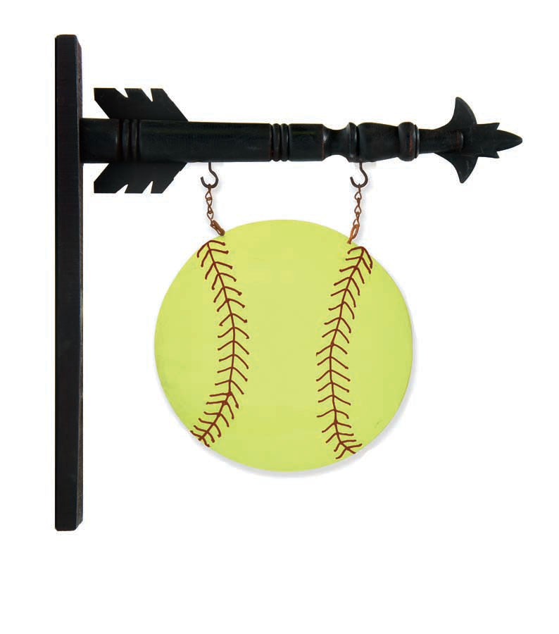 Yellow Softball Arrow Replacement
