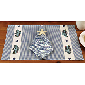 Blue Truck Placemat - set of 2